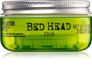 TIGI Bed Head Manipulator Matte mattierendes Wachs extra starke Fixierung