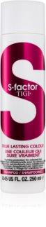 TIGI S-Factor True Lasting Colour champú protector para cabello teñido