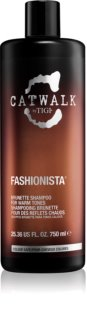 TIGI Catwalk Fashionista Shampoo for Warm Shades of Brown Hair