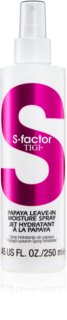 TIGI S-Factor Styling feuchtigkeitsspendendes Spray für trockenes und beschädigtes Haar