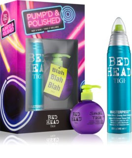 TIGI Bed Head Pump'd and Polished set cadou III.