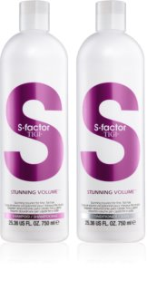 TIGI S-Factor Stunning Volume Cosmetic Set IV. (for Fine Hair) for Women
