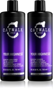 TIGI Catwalk Your Highness lote cosmético VIII.