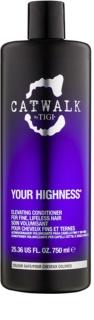 TIGI Catwalk Your Highness Conditioner with Volume Effect