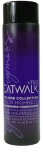 TIGI Catwalk Your Highness Conditioner For Fine Hair And Hair Without Volume