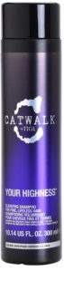 TIGI Catwalk Your Highness Elevating Shampoo For Fine, Lifeless Hair
