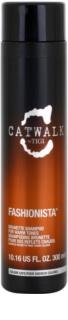 TIGI Catwalk Fashionista šampon pro teplé odstíny hnědých vlasů