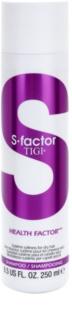 TIGI S-Factor Health Factor champú para cabello seco, dañado y químicamente tratado