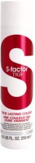TIGI S-Factor True Lasting Colour acondicionador protector para cabello teñido