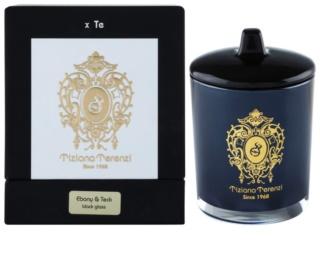 Tiziana Terenzi Ebony & Teck ароматизована свічка    мала з кришкою