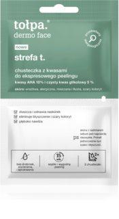 Tołpa Dermo Face T-Zone Exfoliationstücher für Gesicht