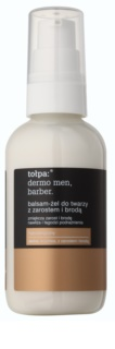 Tołpa Dermo Men Barber balsam-gel calmant pentru bărbați cu barbă