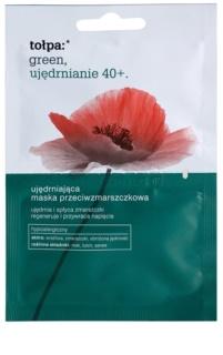 Tołpa Green Firming 40+ festigende Maske gegen Falten
