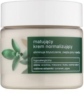 Tołpa Green Matt normalizujúci zmatňujúci krém pre mastnú pleť