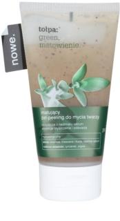 Tołpa Green Matt gel exfoliant pour une peau mate