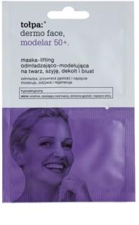 Tołpa Dermo Face Modelar 50+ liftingová vypínacia maska na tvár, krk a dekolt