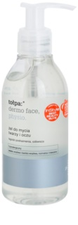 Tołpa Dermo Face Physio Washing Gel On The Face And Eyes