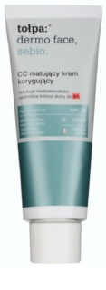 Tołpa Dermo Face Sebio Mattifying CC Cream for Skin Imperfections SPF 30