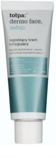 Tołpa Dermo Face Sebio crema calmante para pieles sensibles con tendencia acnéica