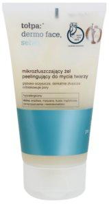 Tołpa Dermo Face Sebio gel limpiador con efecto exfoliante