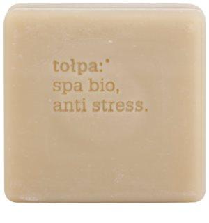 Tołpa Spa Bio Anti Stress detoxikáló szappan tőzeggel