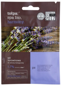 Tołpa Spa Bio Harmony торфена сол за баня с лавандула