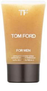 Tom Ford Men Skincare energizujący peeling do twarzy