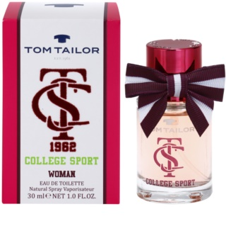Tom Tailor College sport Eau de Toilette für Damen 30 ml