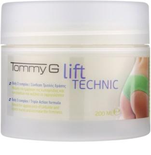Tommy G Body creme anticelulite  para nádegas e ancas