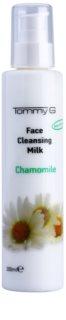 Tommy G Chamomile Line leche limpiadora facial con extracto de manzanilla