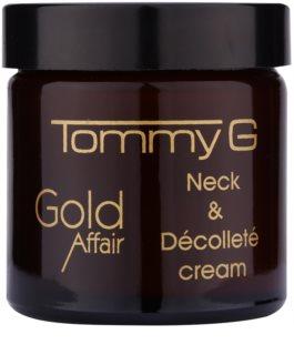 Tommy G Gold Affair crema rejuvenecedora para cuello y escote