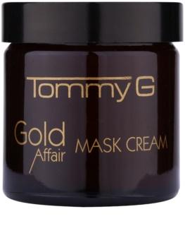 Tommy G Gold Affair maschera idratante e illuminante per pelli sensibili