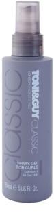 TONI&GUY Classic gel v pršilu za valovite lase