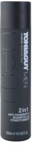 TONI&GUY Men šampón a kondicionér 2 v1 proti lupinám