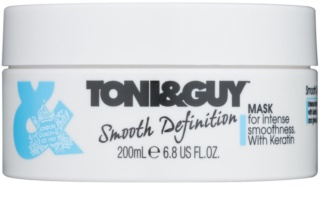TONI&GUY Smooth Definition masca de netezire cu keratina