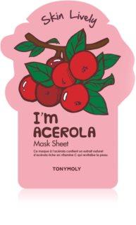 TONYMOLY I'm ACEROLA masque en tissu revitalisant