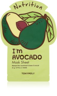TONYMOLY I'm AVOCADO voedende sheet mask