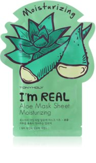 TONYMOLY I'm REAL Aloe hydraterende sheet mask