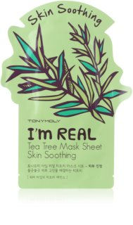 TONYMOLY I'm REAL Tea Tree kalmerende sheet mask