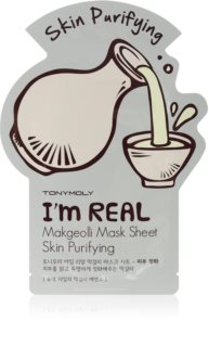 TONYMOLY I'm REAL Makgeolli Cleansing Sheet Mask