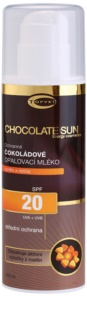 Topvet Chocolate Sun mleczko do opalania SPF 20