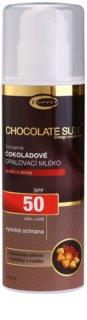 Topvet Chocolate Sun loțiune pentru plaja  SPF 50