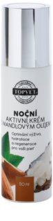 Topvet Face Care vyživující noční krém s mandlovým olejem