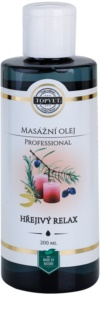 Topvet Professional massage oil - Warm Relax