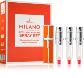 Travalo Milano coffret cadeau IV. Orange