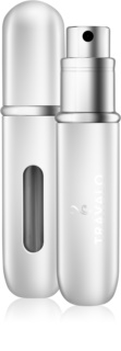Travalo Classic HD nachfüllbarer Flakon mit Zerstäuber unisex 5 ml  Farbton Silver