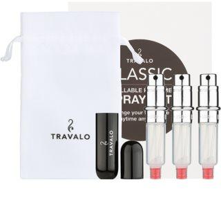Travalo Classic HD подаръчен комплект III. Black