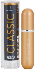 Travalo Classic HD szórófejes parfüm utántöltő palack unisex 5 ml  Gold