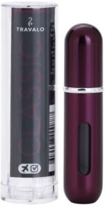 Travalo Classic HD szórófejes parfüm utántöltő palack unisex 5 ml  Plum