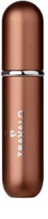 Travalo Classic sticluță reîncărcabilă cu atomizor unisex Light Brown